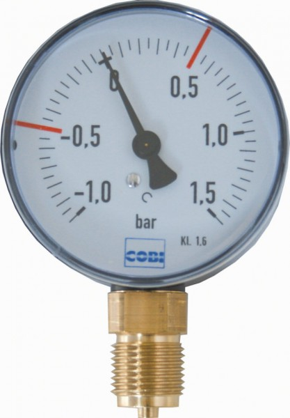 Vakuum-Manometer,Ø-80 mm