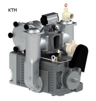 Kompressor Serie KTM / alle Typen mit automatischer Schmierung LA