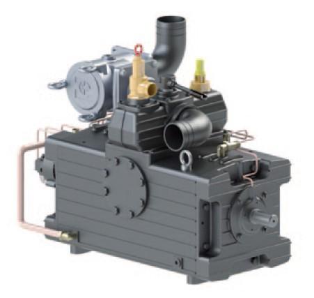 Kompressor Serie KTS / alle Typen mit automatischer Schmierung LA