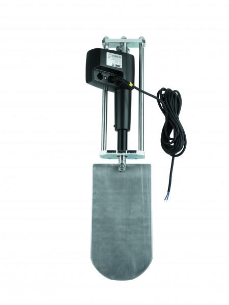 Elektrischer Zylinder 24 V zu Gusseisen Plattenschieber